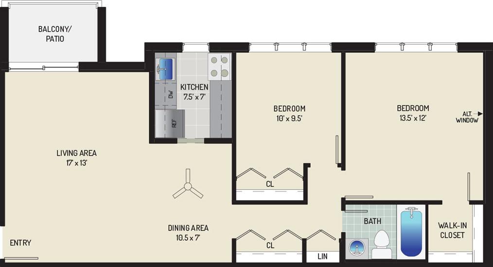 Woodmont Park Apartments - Apartment 405501-101-D2