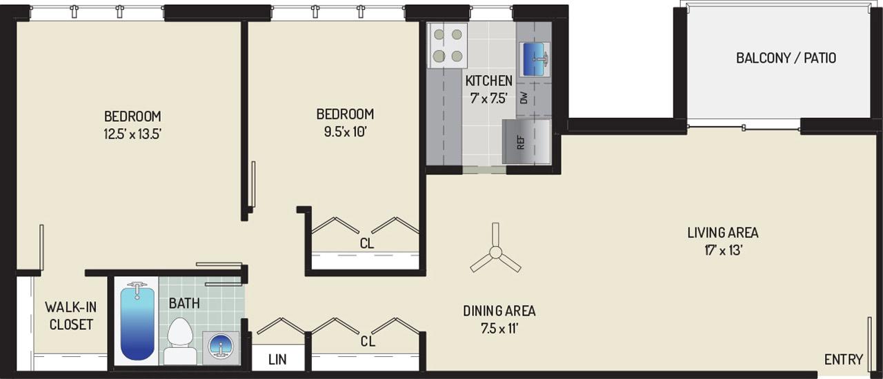 Woodmont Park Apartments - Apartment 405511-302-E2