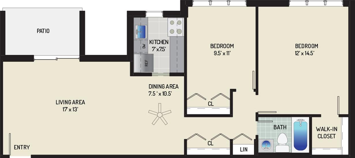 Woodmont Park Apartments - Apartment 405532-102-F1