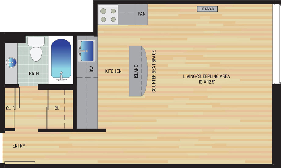 Woodmont Park Apartments - Apartment 415420-101-A2