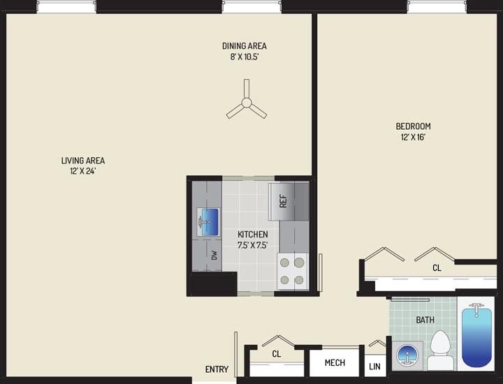 Woodmont Park Apartments - Apartment 415445-106-C
