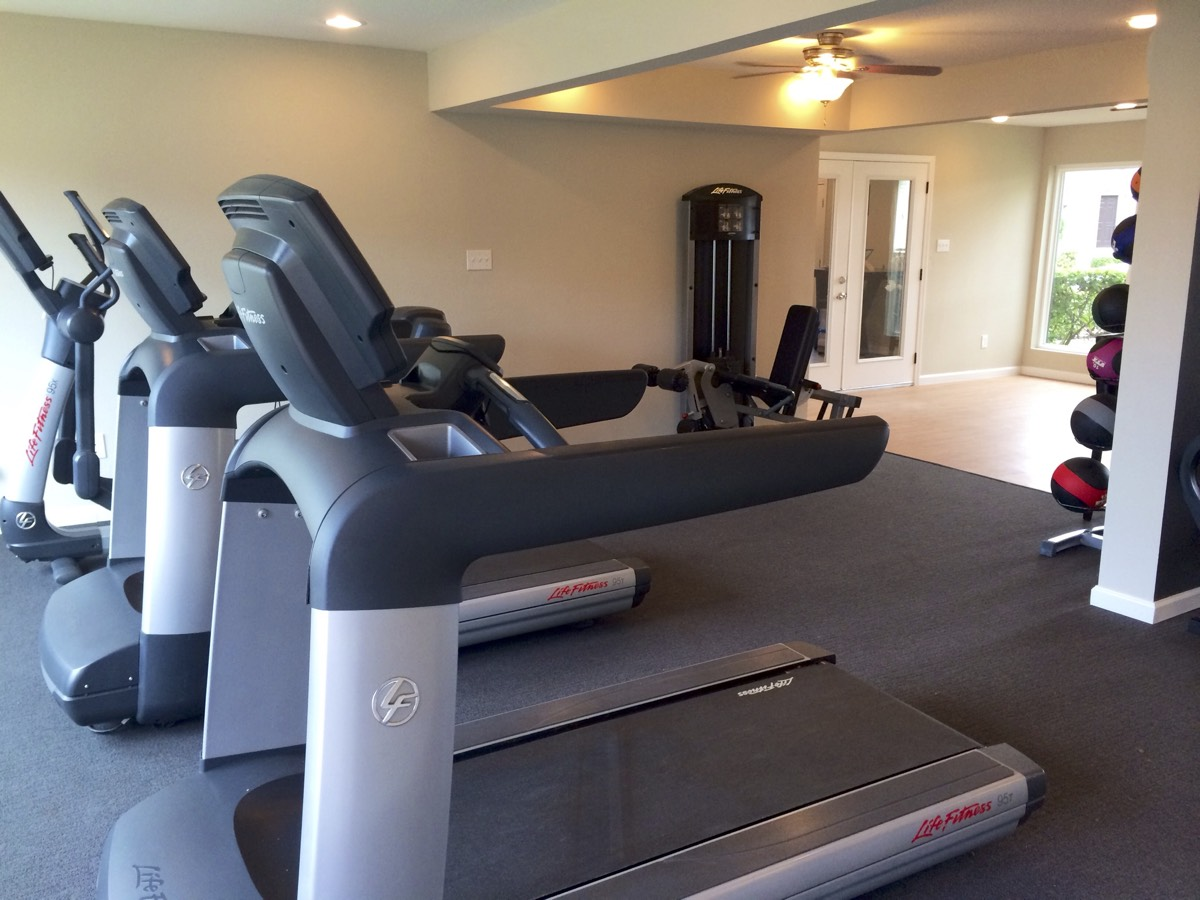 Cardio Equipment at Woods at Spring Grove Apartments in Houston, Texas