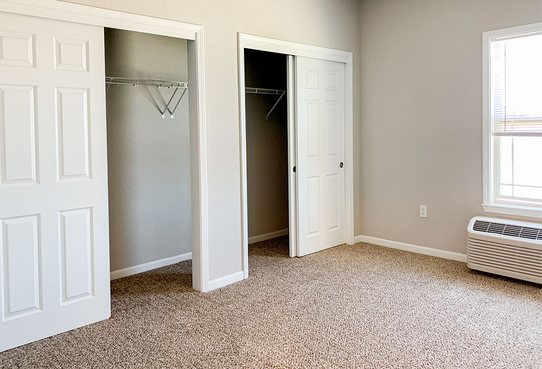 Spacious Closets at The Residence at Yukon Hills Apartments in Yukon, Oklahoma