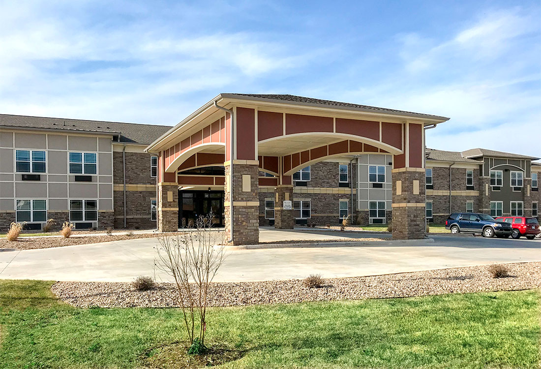 Ample Parking at The Residence at Yukon Hills Apartments in Yukon, Oklahoma