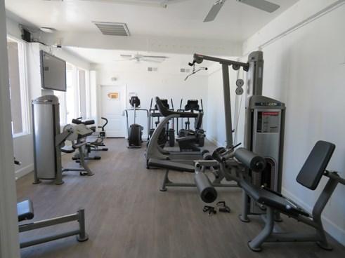 On-Site Fitness Center at Zazu Apartments in Phoenix, Arizona